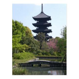 Pagoda de Kyoto Postal
