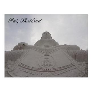 Pai, postal de Tailandia