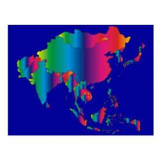 País de ASIA Postal