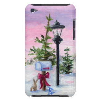País de las maravillas del invierno barely there iPod carcasas