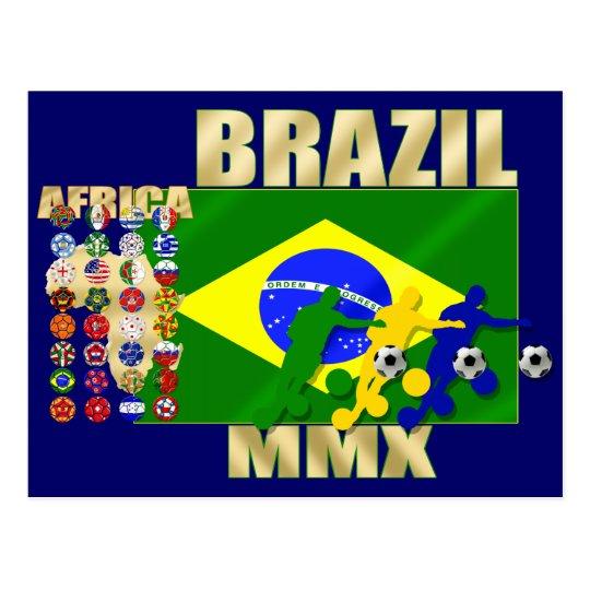 País del Brasil 32 que califica los regalos 2010 Postal