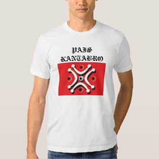 pais kantabro camisetas