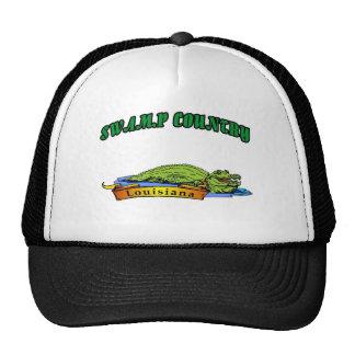 País Luisiana del pantano Gorras De Camionero