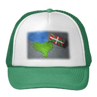 País vasco con su propia bandera gorro