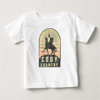 País Wyoming de Cody Camiseta De Bebé