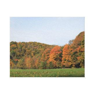 Paisaje 2016 del otoño de Vermont Lienzo