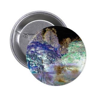 Paisaje abstracto de los árboles de la fantasía