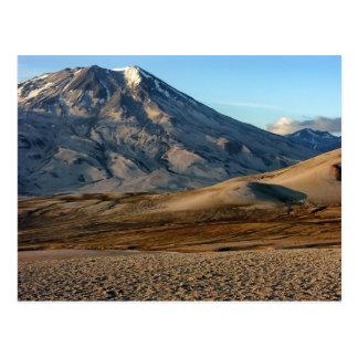 Paisaje asombroso de la montaña postal