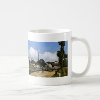 Paisaje de Camilo Pissarro- con la fábrica Taza De Café