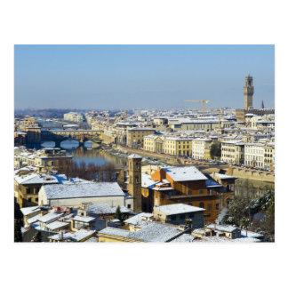 Paisaje de Florencia de Piazzale 2 Tarjeta Postal