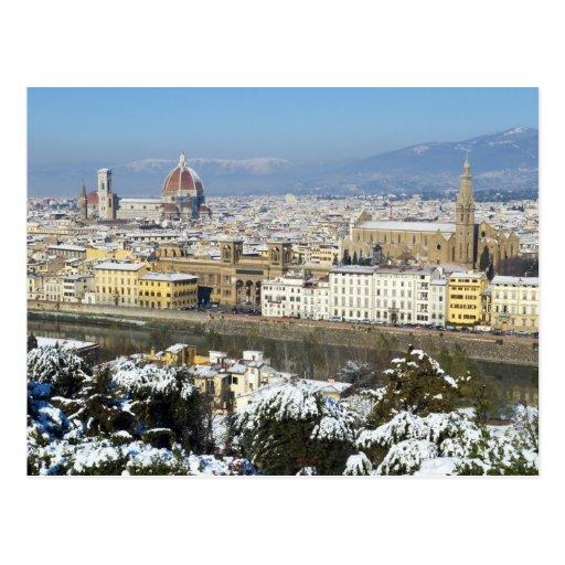 Paisaje de Florencia de Piazzale Postal