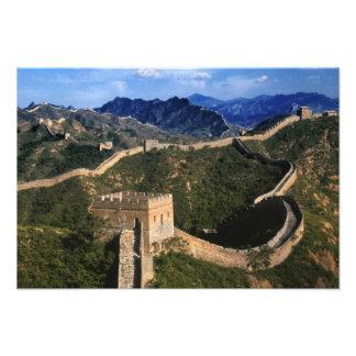 Paisaje de la Gran Muralla Jinshanling China Impresiones Fotograficas