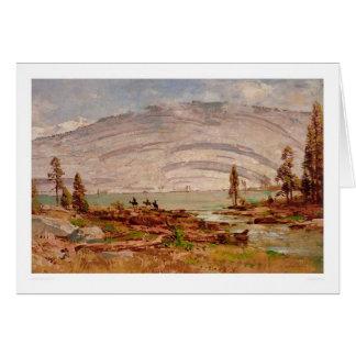 Paisaje de Sierra Nevada (0709A) Tarjeta De Felicitación