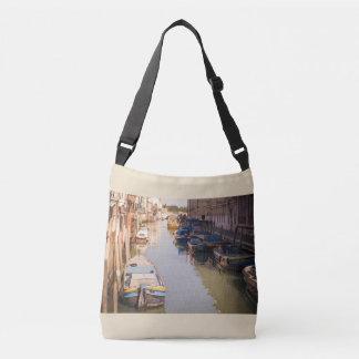 Paisaje de Venecia Bolso Cruzado