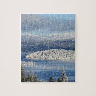 Paisaje del invierno puzzle