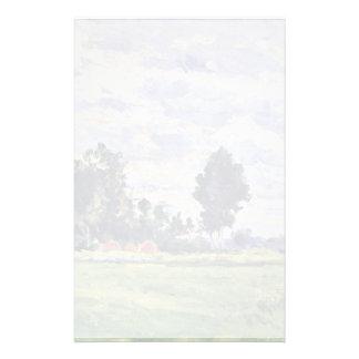 Paisaje en el Ile de France de Paul Cézanne Papeleria