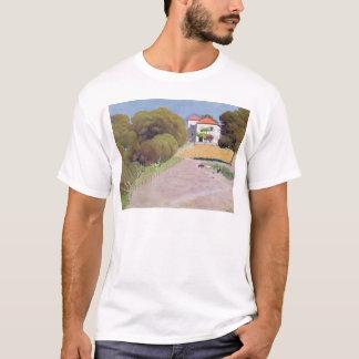 Paisaje, la casa con el Roof rojo, 1924 Camiseta