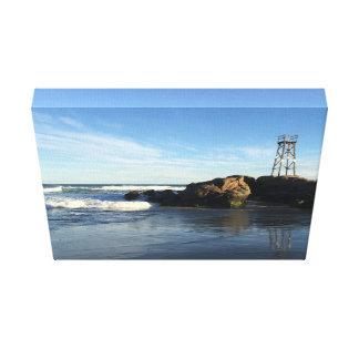Paisaje marino australiano de la costa lienzo