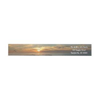 Paisaje marino de la puesta del sol I California