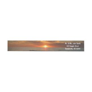Paisaje marino de la puesta del sol II California