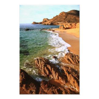 Paisaje marino de Los Cabos Coastal Impresion Fotografica