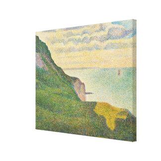 Paisaje marino en Puerto-en-Bessin, Normandía, 188 Impresión En Lienzo
