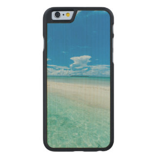 Paisaje marino tropical azul, Palau Funda De iPhone 6 Carved® Slim De Arce