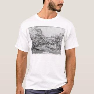 Paisaje montañoso camiseta