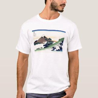 Paisaje oriental fresco de la opinión de Hokusai Camiseta