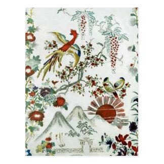 Paisaje oriental postal