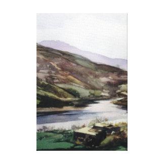 Paisaje/Paisaxe/Landscape Impresión En Lienzo