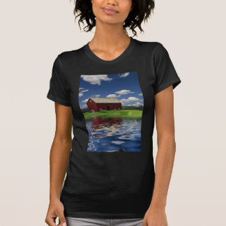 Paisaje rural camisetas