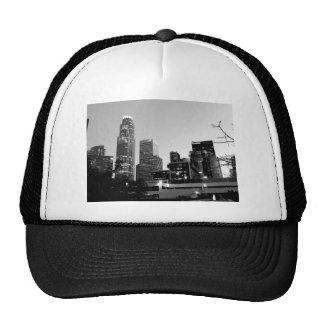 Paisaje urbano blanco y negro 7 gorra