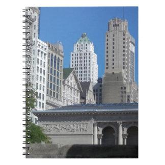 Paisaje urbano de Chicago Cuaderno