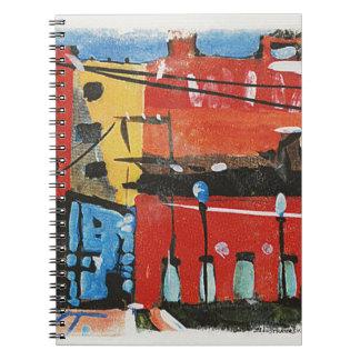paisaje urbano de Lyn Graybeal Cuaderno