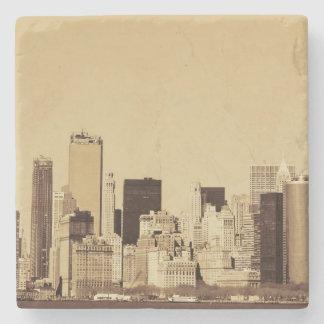 Paisaje urbano de Nueva York Posavasos De Piedra