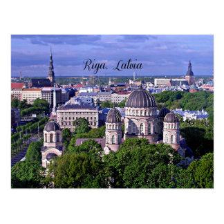 Paisaje urbano de Riga, Letonia Postal