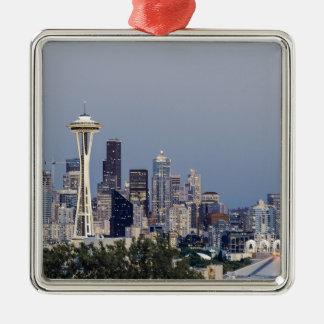 Paisaje urbano de Seattle Adorno De Cerámica