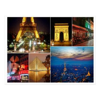 Paisaje urbano del viaje de la ciudad de Francia Postal