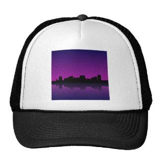 paisaje urbano gorras