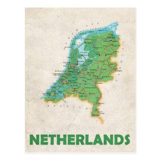 ♥ Países Bajos de las POSTALES del MAPA