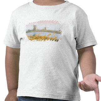 Países Bajos, Kinderdijk. Molinoes de viento al Camiseta