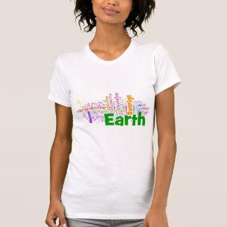 Países del mundo (colorido) camisetas