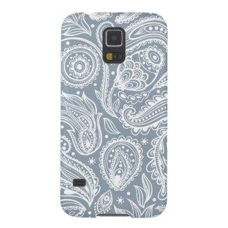Paisley de plata carcasa galaxy s5