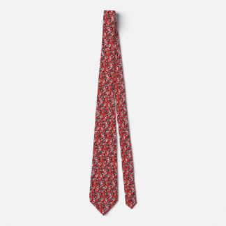 Paisley modeló el lazo corbata