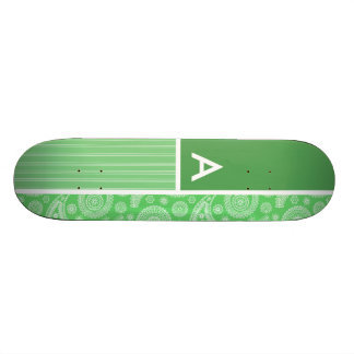 Paisley verde monopatin