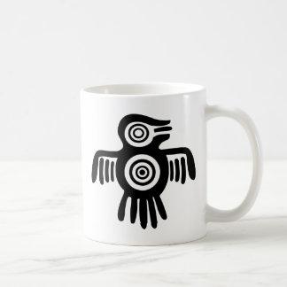 Pájaro azteca taza clásica