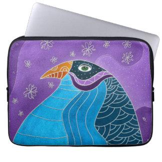 Pájaro azul funda para portátil