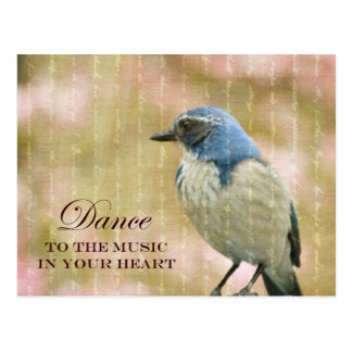 Pájaro azul naturalmente hermoso postales