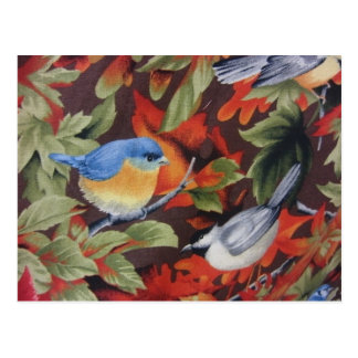 Pájaro azul postales
